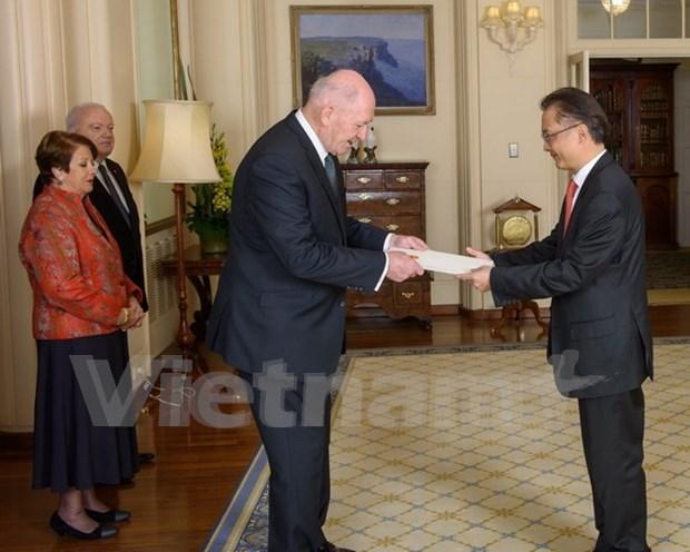 Australia aspira a intensificar asociacion integral con Vietnam hinh anh 1
