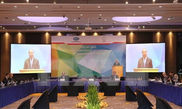 Inauguran en Vietnam reunion ministerial de APEC sobre PyMEs hinh anh 1