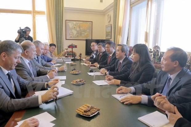 Vietnam y Rusia robustecen nexos hinh anh 1