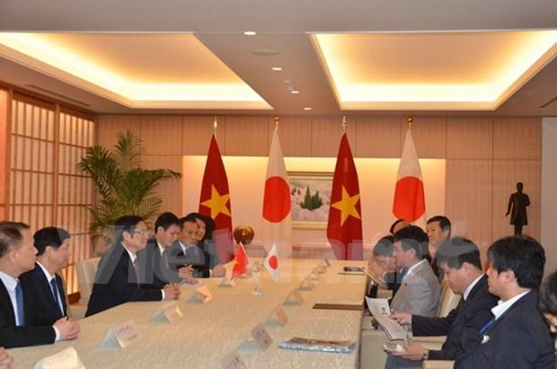 Vietnam y Japon intensifican cooperacion economica hinh anh 1