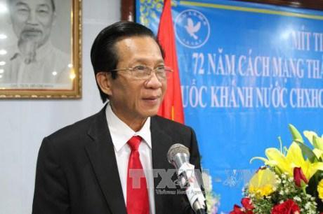 Dirigente camboyano destaca relaciones de amistad y solidaridad con Vietnam hinh anh 1