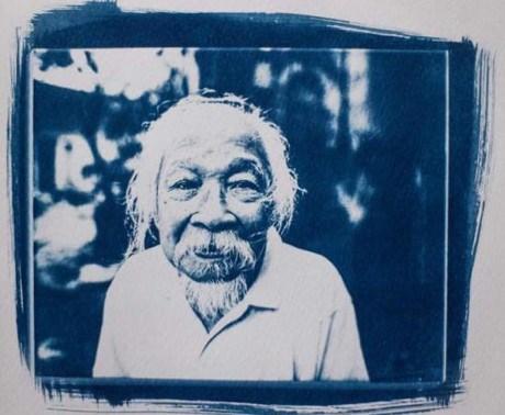 """En Hanoi la exposicion """"Vietnam en Cianotipo"""" de artista francesa hinh anh 1"""