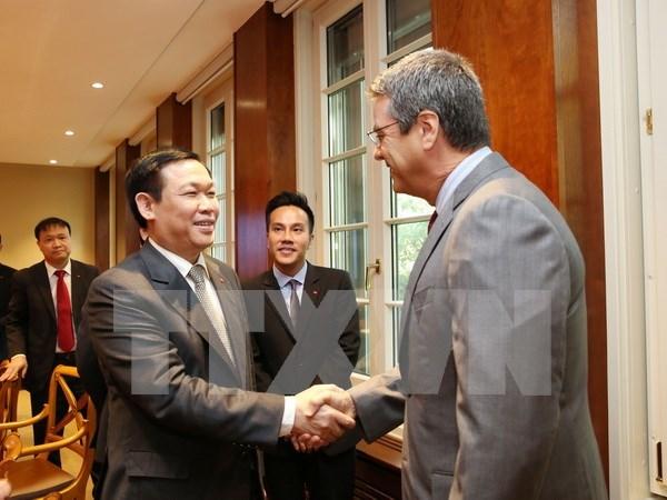 Vietnam promueve cooperacion con OMC hinh anh 1