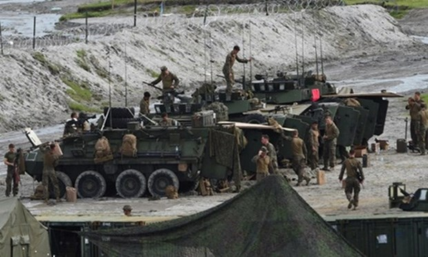 Filipinas y Estados Unidos realizaran ejercicios antiterroristas hinh anh 1