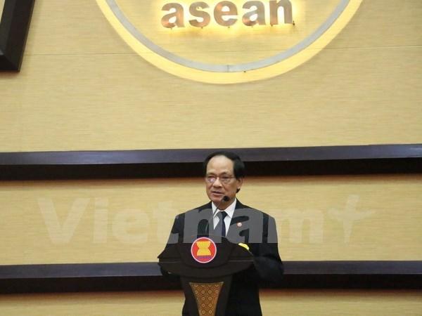 ASEAN fortalece cooperacion con ONU y Suiza hinh anh 1