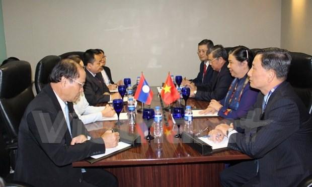 Vietnam intensifica nexos legislativos con Laos, Tailandia y Camboya hinh anh 1
