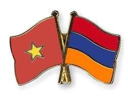 Intensifican relaciones de amistad entre Vietnam y Armenia hinh anh 1