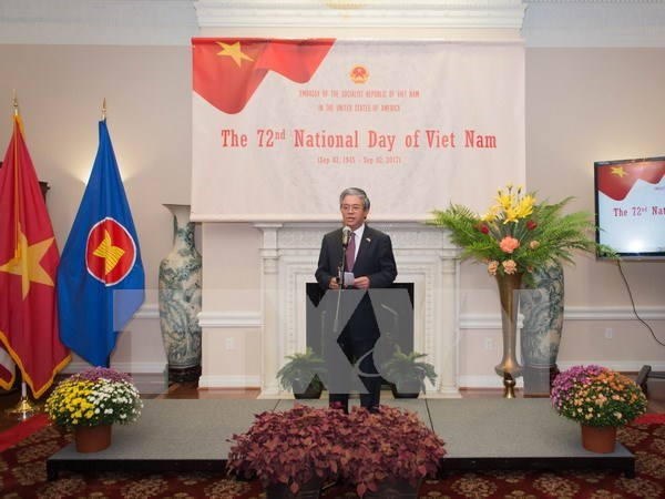 Conmemoran la Fiesta Nacional de Vietnam en Estados Unidos hinh anh 1