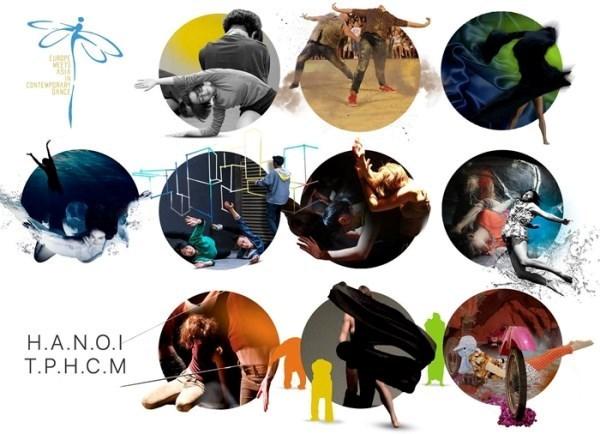 Celebraran en Vietnam el Festival de Danza Contemporanea de Europa y Asia hinh anh 1