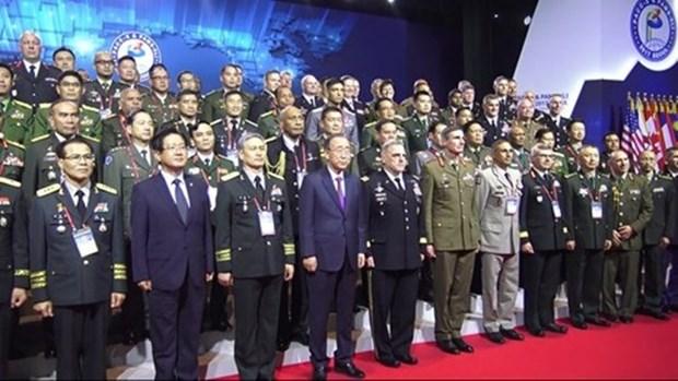 Participa Vietnam en la Conferencia de Jefes de Ejercitos del Pacifico hinh anh 1