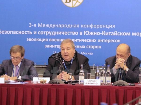 Analizan en Rusia situacion en el Mar del Este hinh anh 1