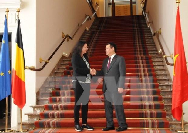 Vicepremier de Vietnam cumple agenda apretada en Belgica hinh anh 2