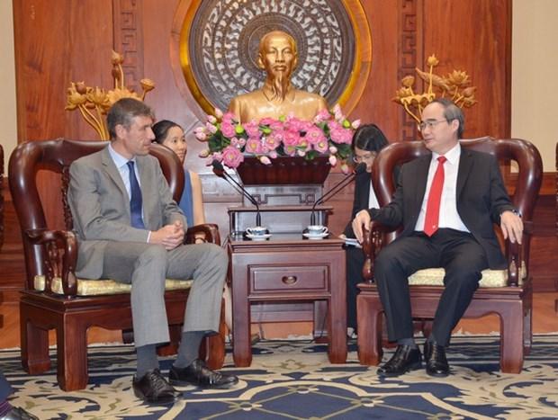 Firmas britanicas desean ampliar operaciones en Ciudad Ho Chi Minh hinh anh 1