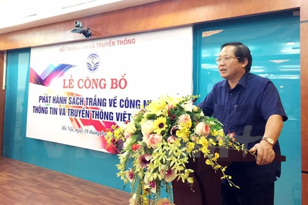 Publican Libro Blanco de Informatica y Comunicacion de Vietnam 2017 hinh anh 1