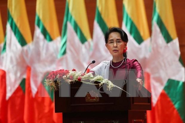 Myanmar promete restaurar estabilidad en Rakhine hinh anh 1