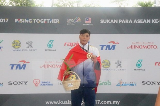Vietnam conquista mas medallas en ASEAN Para Games hinh anh 1