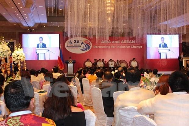 AIPA-38 respalda los esfuerzos de construccion de Comunidad de ASEAN hinh anh 1