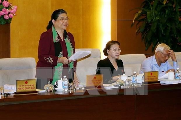 Parlamento vietnamita analiza participacion del pais en Convenio de Estambul hinh anh 1