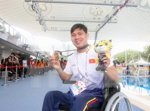 Vietnam establece nuevos records en ASEAN Para Games hinh anh 1