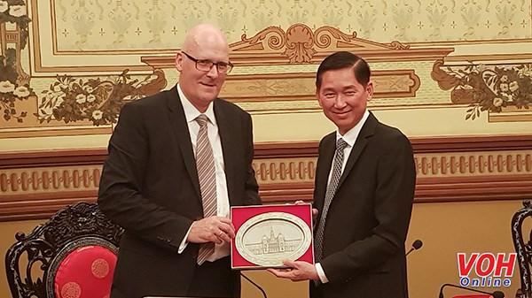 Ciudad Ho Chi Minh coopera con Dinamarca en desarrollo urbano inteligente hinh anh 1