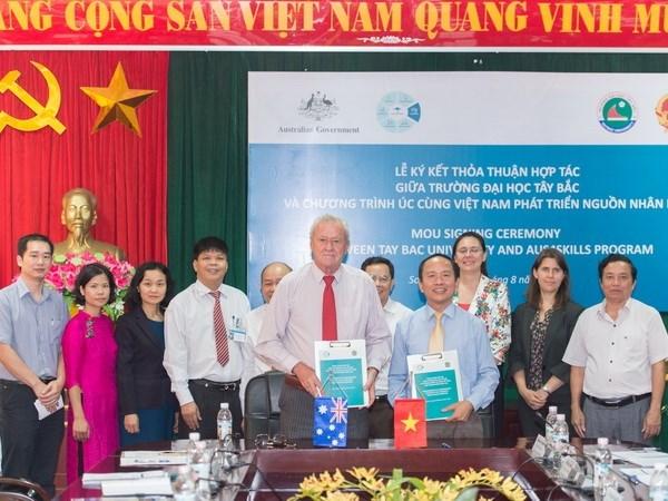 Australia ayuda a Vietnam en capacitacion de recursos humanos calificados hinh anh 1