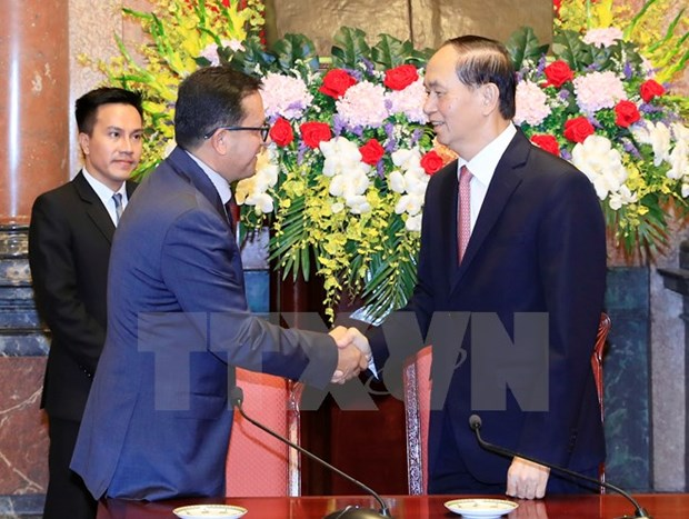 Presidente vietnamita respalda actividades de Cruz Roja y Medialuna Roja hinh anh 1