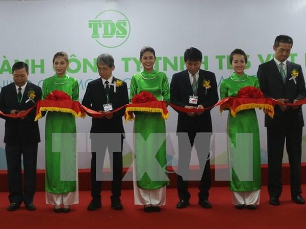 Grupo japones inaugura fabrica de solenoides en Vietnam hinh anh 1