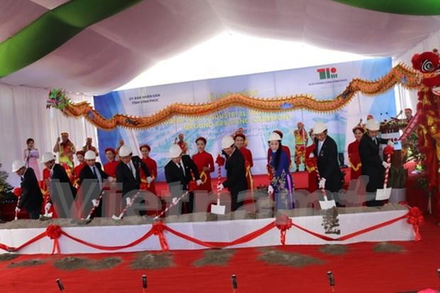 Inician construccion del Parque Industrial Thang Long Vinh Phuc hinh anh 1