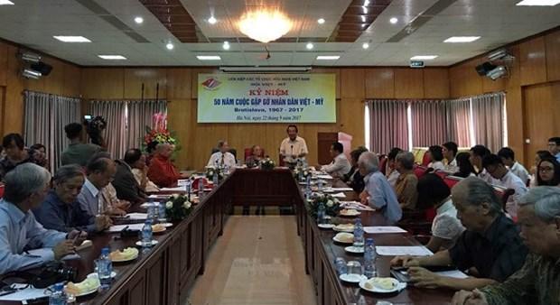 Coloquio marca mitad de siglo de reunion historica Vietnam- EE.UU. en Bratislava hinh anh 1
