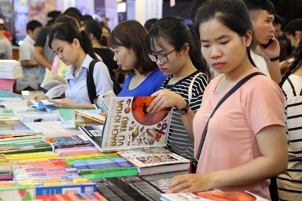 Feria del Libro abre sus puertas en Hanoi hinh anh 1