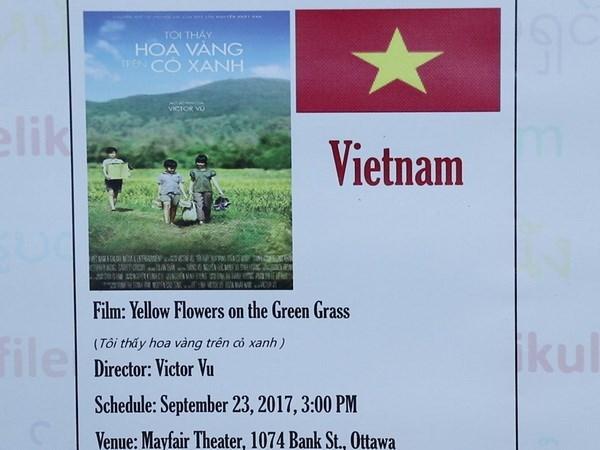 Efectuan semana cinematografica de ASEAN en Canada hinh anh 1