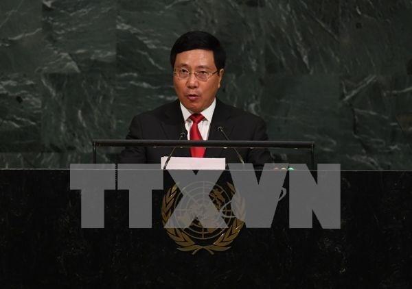 ASEAN debe fortalecer la solidaridad, segun vicepremier vietnamita hinh anh 1