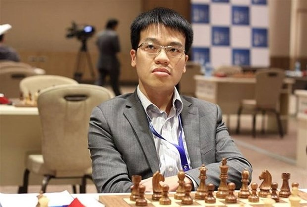 Ajedrecista vietnamita Le Quang Liem, campeon en juegos asiaticos bajo techo hinh anh 1