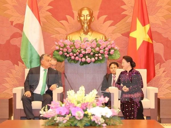 Parlamento vietnamita aboga por reforzar lazos con Hungria hinh anh 1