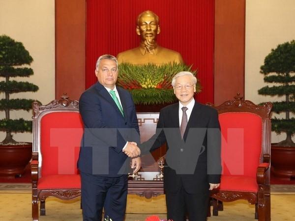 Vietnam atesora amistad con Hungria, afirma secretario general del Partido Comunista hinh anh 1