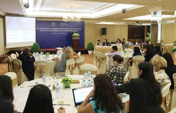 Funcionarios del APEC debaten sobre participacion de mujeres en negocios inclusivos hinh anh 1