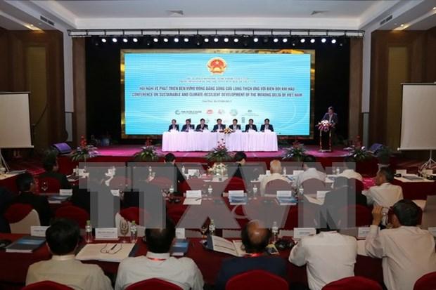 Inauguran conferencia sobre desarrollo sostenible del Delta del rio Mekong hinh anh 1