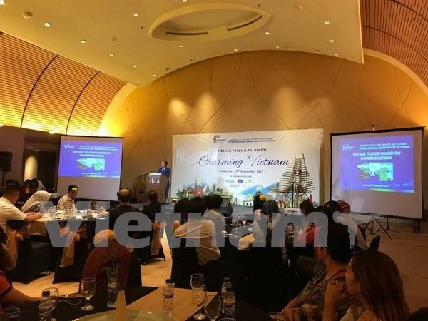 Vietnam realiza programa de promocion turistica nacional en Indonesia hinh anh 1