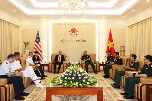 Vietnam y EE.UU. comprometidos con labores de mitigacion de secuelas de guerra hinh anh 1