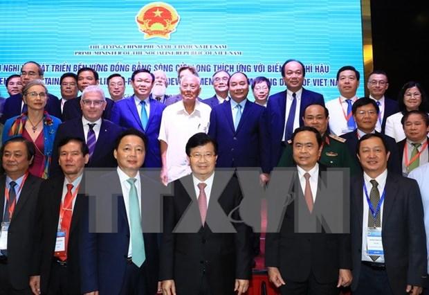 Gobierno vietnamita determinado a impulsar desarrollo sostenible en delta del Mekong hinh anh 1