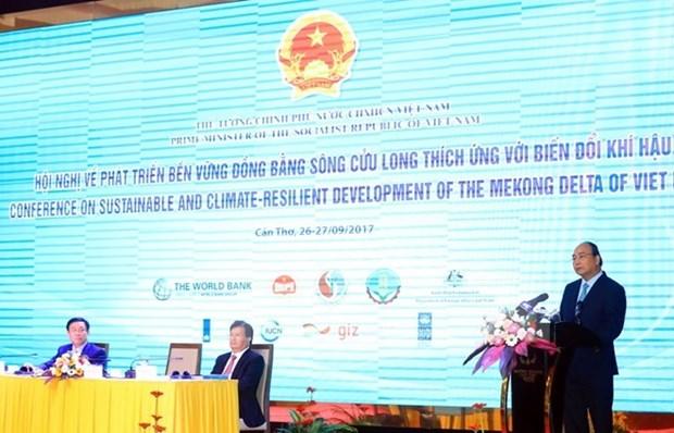 Premier vietnamita pide desarrollar una agricultura inteligente y sostenible en Delta del Mekong hinh anh 1