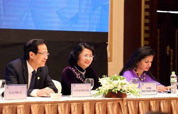 Vicepresidenta vietnamita: Economias del APEC deben aumentar empoderamiento de mujeres hinh anh 1