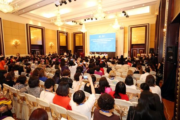 Debaten en Vietnam sobre aumento de presencia de mujeres en cargos de liderazgo en APEC hinh anh 1