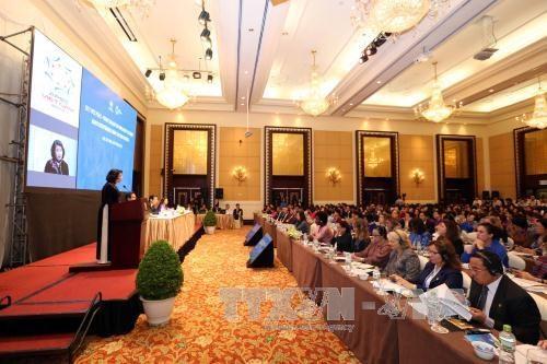 APEC busca promover empoderamiento economico de mujeres en la cuarta revolucion industrial hinh anh 1