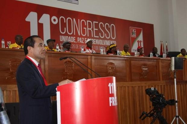 Delegacion partidista vietnamita asiste a Congreso del Frente de Liberacion de Mozambique hinh anh 1