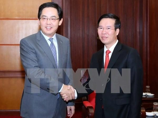 Celebran en Hanoi aniversario del Dia Nacional de China hinh anh 1