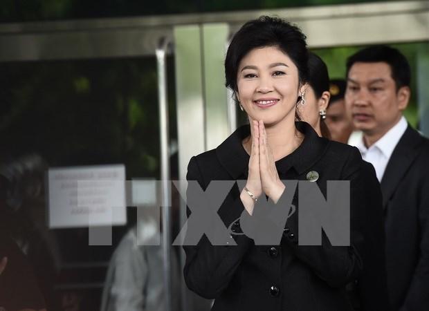 Tailandia confirma que expremier Yingluck Shinawatra esta en Dubai hinh anh 1