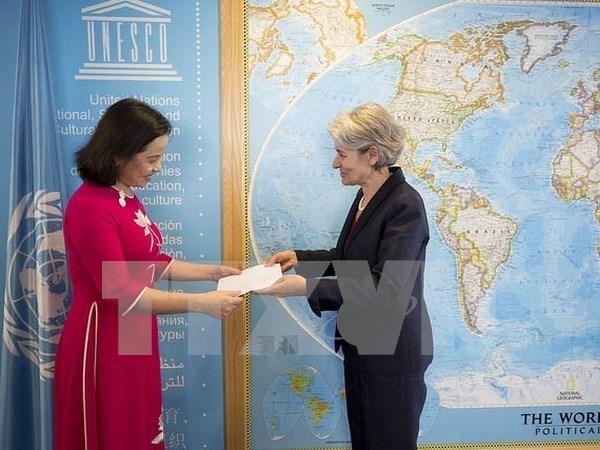 Resaltan vinculos sostenibles entre la UNESCO y Vietnam hinh anh 1