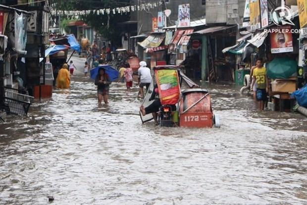 Filipinas recibe asistencia internacional para enfrentar inundaciones en Manila hinh anh 1