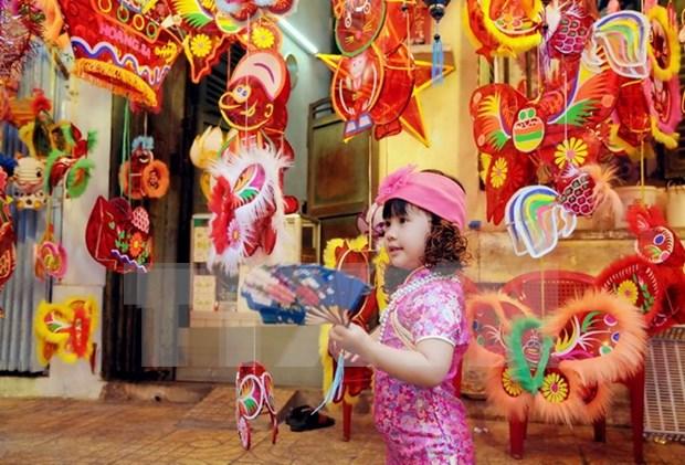 Efectuan en Hanoi actividades en saludo a Fiesta de Medio Otono hinh anh 1